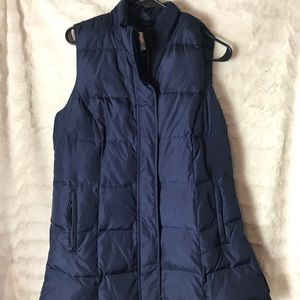 Women's J Jill Down Filled Vest